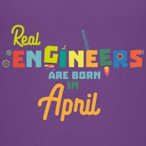 Engineers are born in April Sjz85 Baby & Toddler Shirts - Toddler Premium T-Shirt