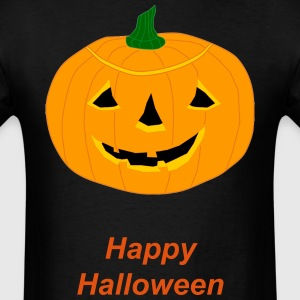 Cute Happy Halloween Pumpkin T-Shirts - Men's T-Shirt