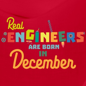 Engineers are born in December S6r6a Caps - Bandana