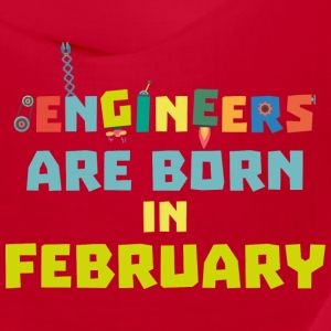 Engineers are born in February Sbv9q Caps - Bandana