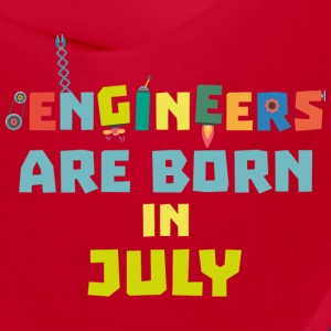Engineers are born in July Sw3c8 Caps - Bandana