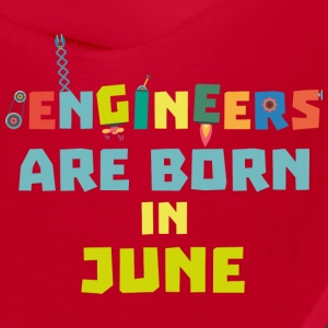 Engineers are born in June So3k7 Caps - Bandana