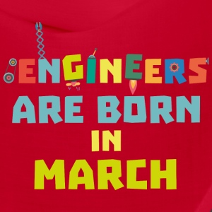 Engineers are born in March Sa0s2 Caps - Bandana