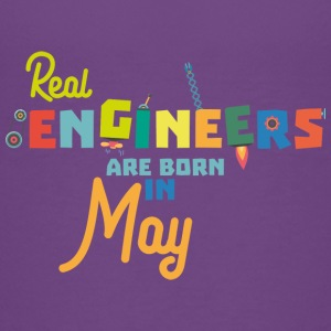 Engineers are born in May S8wv0 Kids' Shirts - Kids' Premium T-Shirt