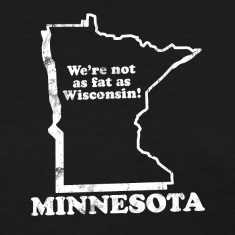 MINNESOTA STATE SLOGAN Women's T-Shirts