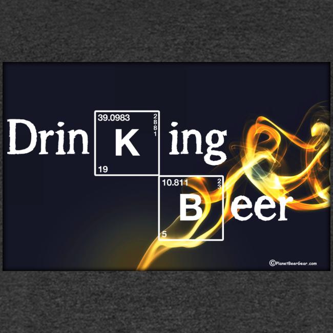 Drinking Beer Men's T-Shirt