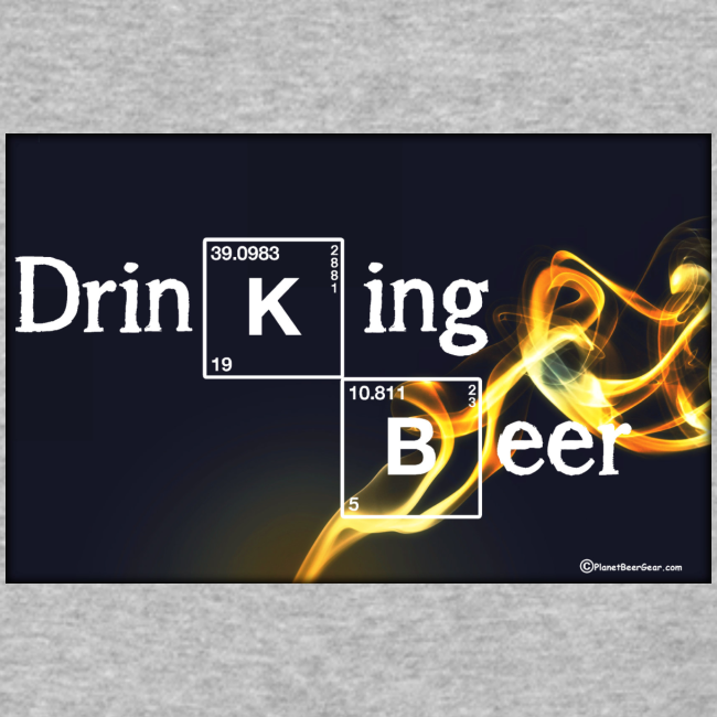 Drinking Beer Baseball T-Shirt