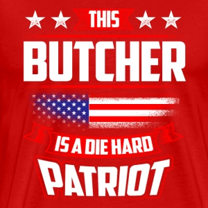 4th Of July Butcher Shirt Gift T-Shirts - Men's Premium T-Shirt