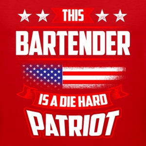 4th Of July Bartender Shirt Gift Sportswear - Men's Premium Tank