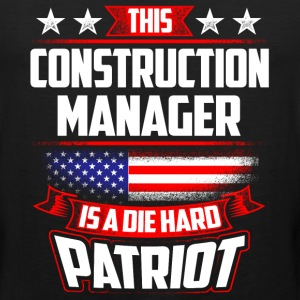 4th Of July Construction Manager Shirt Gift Sportswear - Men's Premium Tank