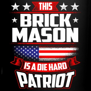 4th Of July Brick Mason Shirt Gift Mugs & Drinkware - Full Color Mug