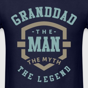 Granddad The Legend - Men's T-Shirt
