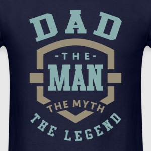 Dad The Legend - Men's T-Shirt