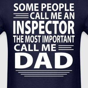 Inspector Dad - Men's T-Shirt