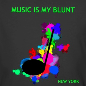 music is my spatter 300.png T-Shirts - Men's 50/50 T-Shirt
