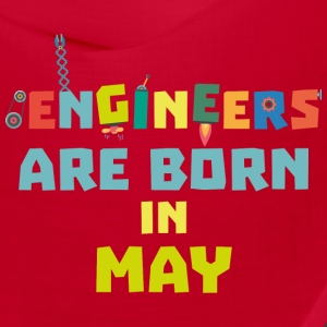 Engineers are born in May S863d Caps - Bandana