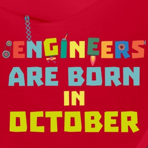 Engineers are born in October S3zoj Caps - Bandana