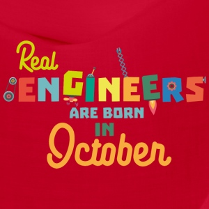 Engineers are born in October Ss52p Caps - Bandana