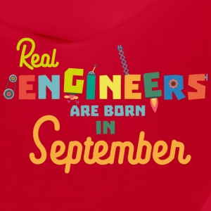 Engineers are born in September St500 Caps - Bandana