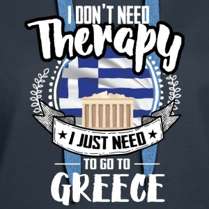 Countries Therapy Greece Hoodies - Women's Premium Hoodie