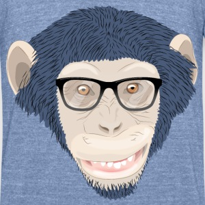 Chimp T-Shirts - Unisex Tri-Blend T-Shirt by American Apparel