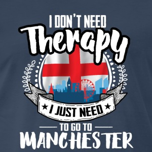 Cities Therapy Manchester T-Shirts - Men's Premium T-Shirt