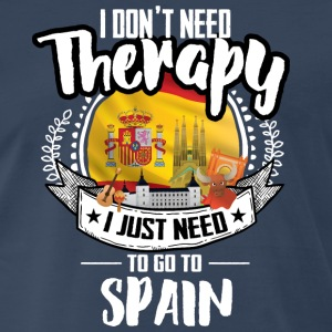 Countries Therapy Spain T-Shirts - Men's Premium T-Shirt