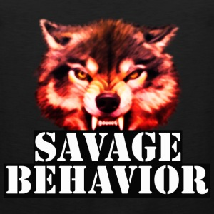 SAVAGE BEHAVIOR MEN  - Men's Premium Tank