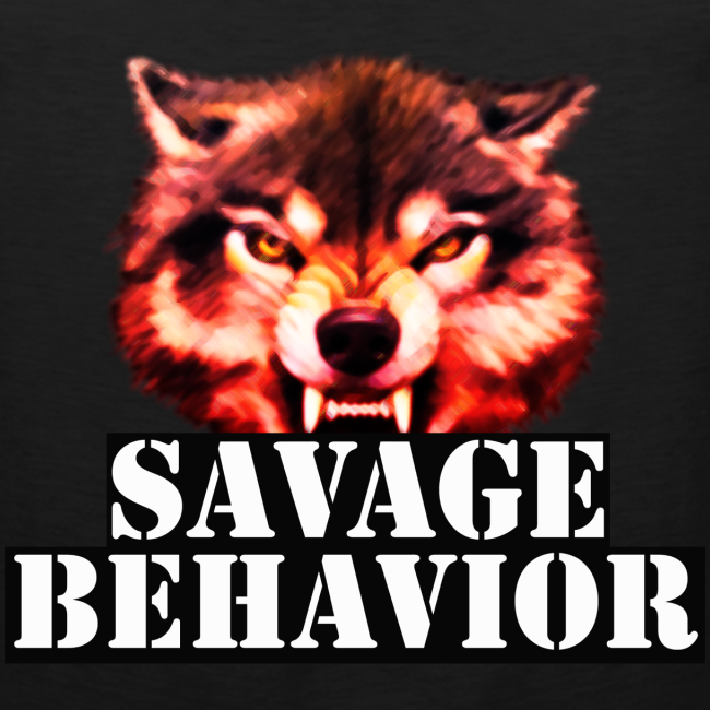 Savage Behavior White Tank