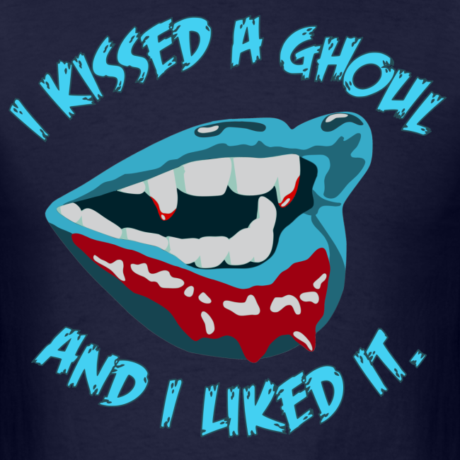 I Kissed a Ghoul Tee