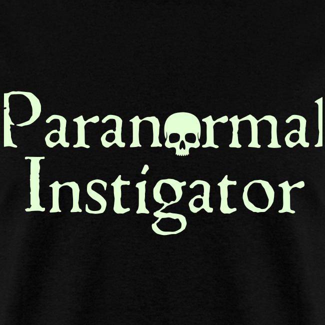 Paranormal Instigator Glow in the Dark Tee