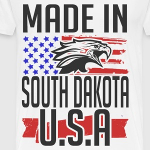 south dakota 2.png T-Shirts - Men's Premium T-Shirt