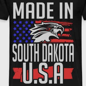 south dakota 1.png T-Shirts - Men's Premium T-Shirt