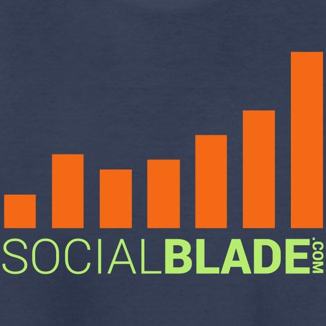 Social Blade Orange Youth T-Shirt
