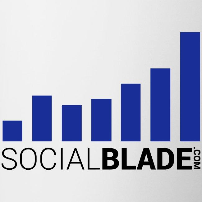 Social Blade Blue Mug