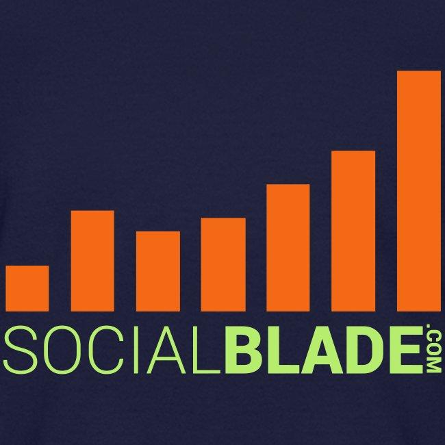 Social Blade Orange Kids T-Shirt