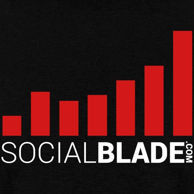 Social Blade Traditional Logo T-Shirt
