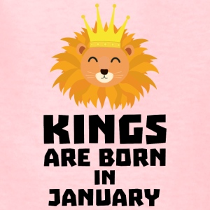 Kings are born in JANUARY S4z2d Kids' Shirts - Kids' T-Shirt