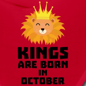 Kings are born in OCTOBER Szx1p Caps - Bandana