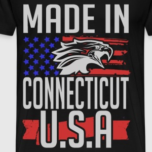 connecticut 2.png T-Shirts - Men's Premium T-Shirt