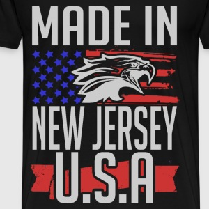 new jersey 1.png T-Shirts - Men's Premium T-Shirt
