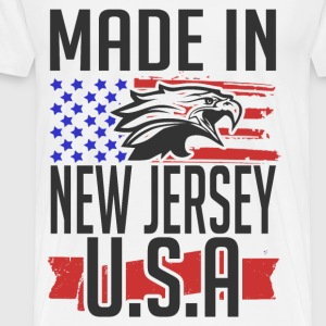 new jersey 2.png T-Shirts - Men's Premium T-Shirt