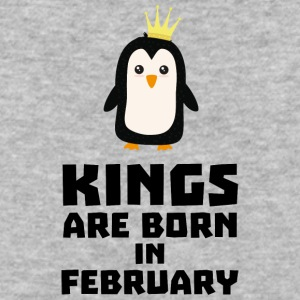kings born in FEBRUARY Syp9b T-Shirts - Baseball T-Shirt