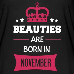 Beauties are born in November T-Shirts - Women's Flowy T-Shirt