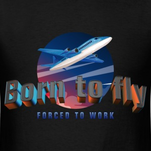 born_to_fly_05201702 T-Shirts - Men's T-Shirt