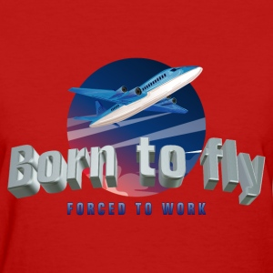 born_to_fly_05201701 T-Shirts - Women's T-Shirt