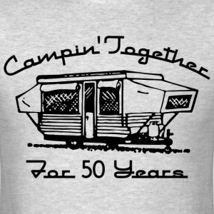 Camping Together 50 Years T-Shirts - Men's T-Shirt