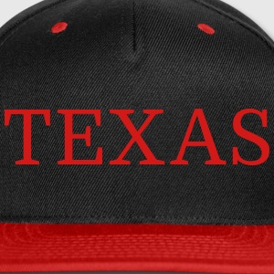 TEXAS Sportswear - Snap-back Baseball Cap