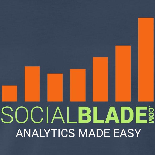 Social Blade - 2017 (Navy 2)