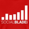 Social Blade 2017 - Traditional (Red) - Men's Premium T-Shirt